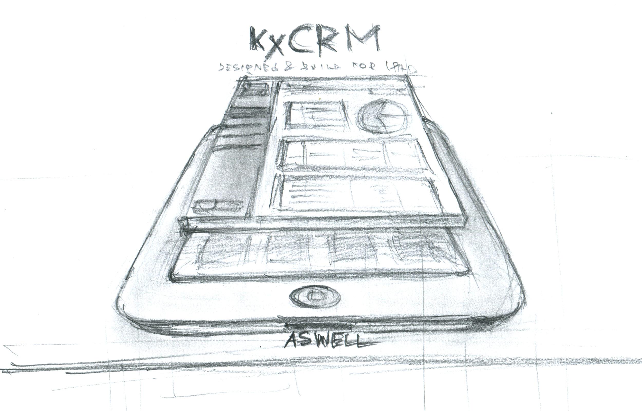 KxCRM sketch
