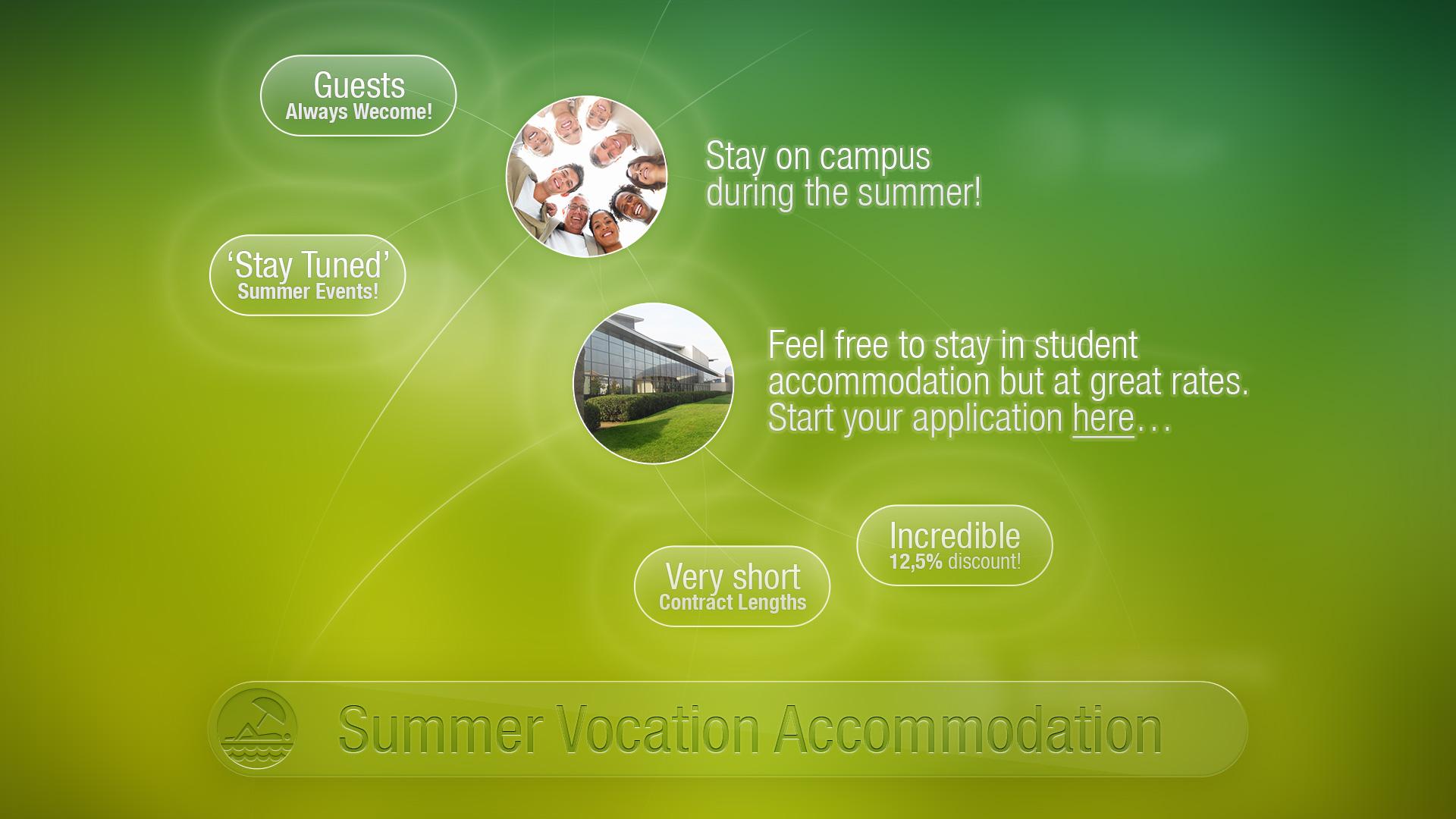 Summer Vocation