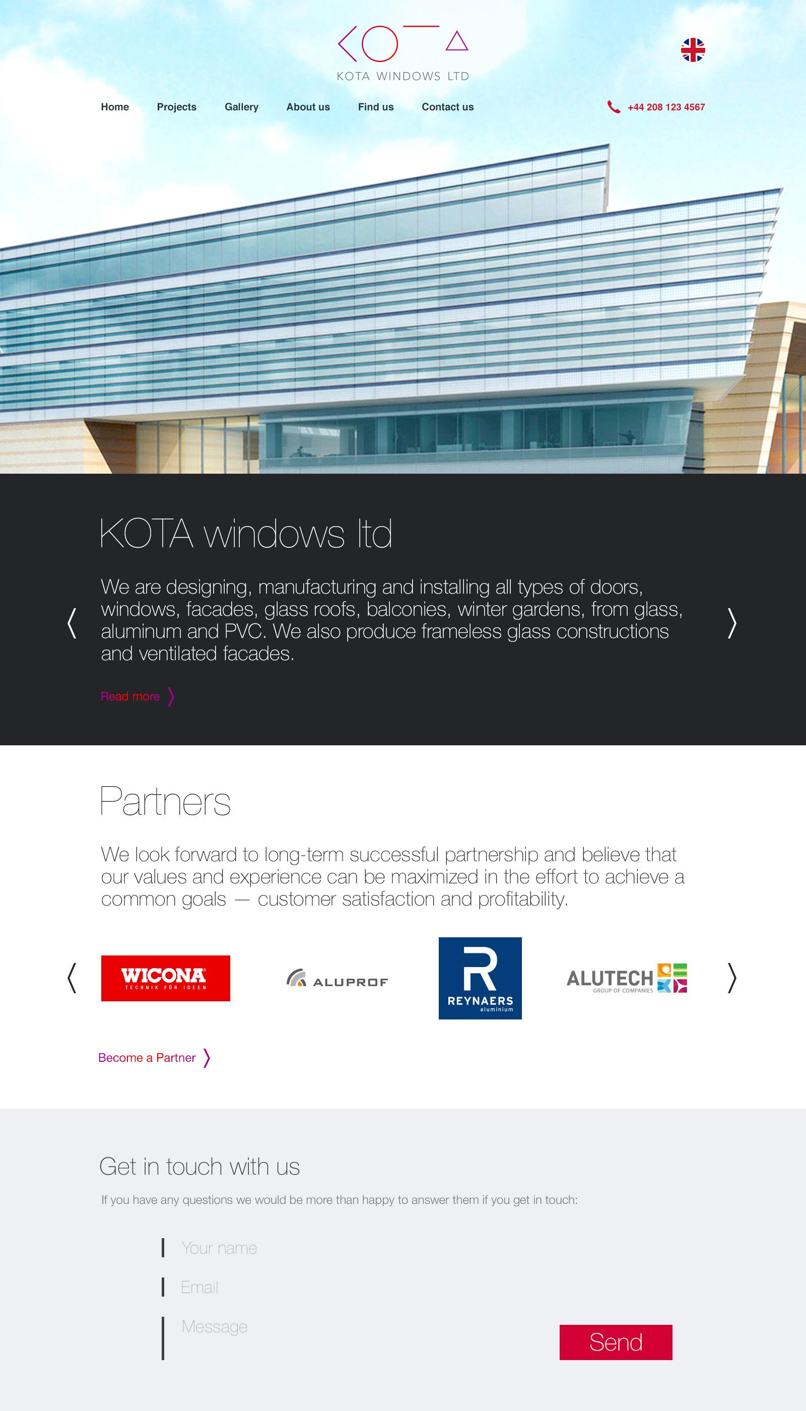 KOTA Homepage